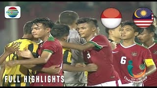 Indonesia 1 vs 0 Malaysia Full Highlights AFF U 16 Ch ionship 2018