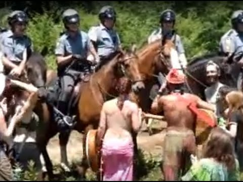 Rainbow Gathering 2010 pennsylvania