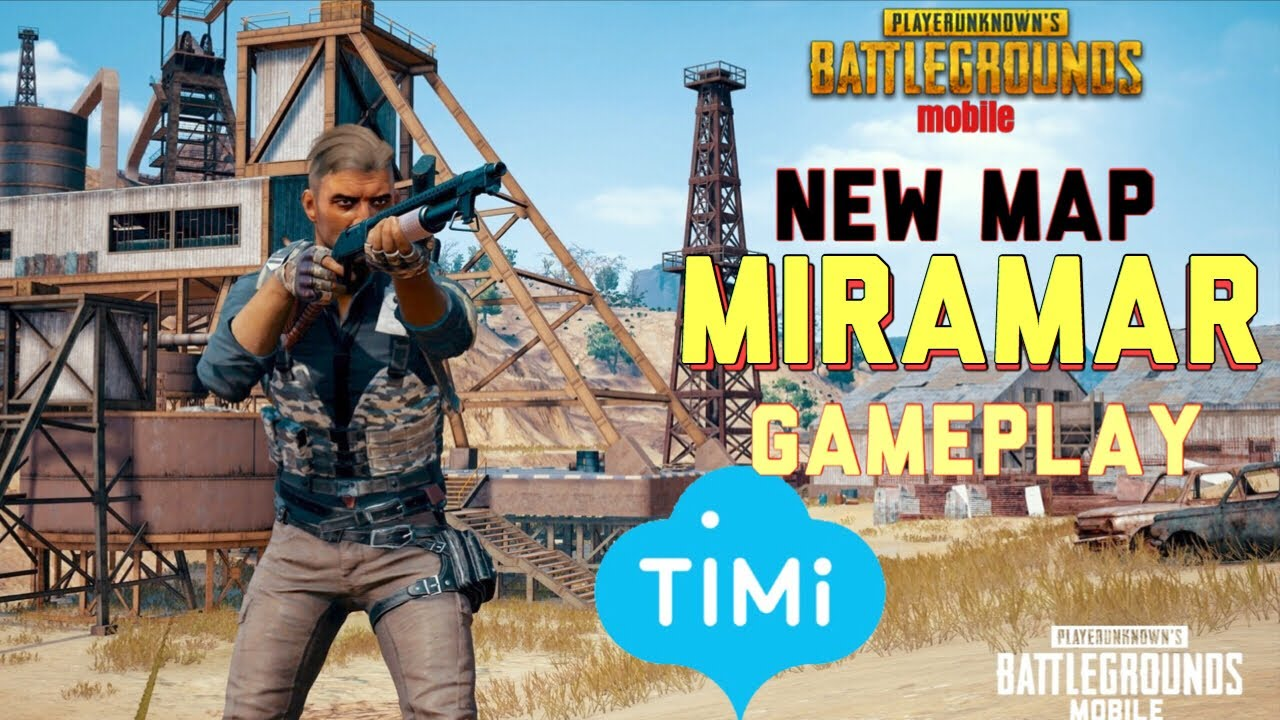 Hdr 60 Fps Pubg Mobile: PUBG MOBILE: NEW MAP MIRAMAR GAMEPLAY