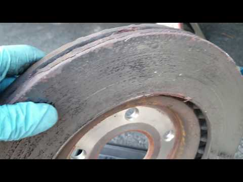 Rusty warped Brake rotors - This is what you should do