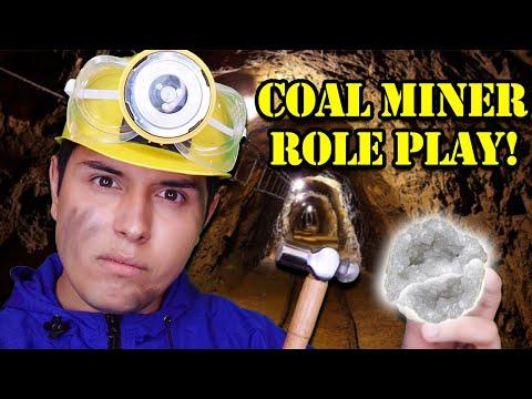 ASMR | Coal Miner Role Play! (Underground Tingles)