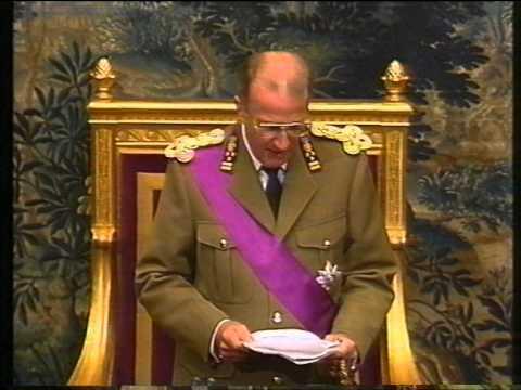 eedaflegging Koning Albert II van Belgie