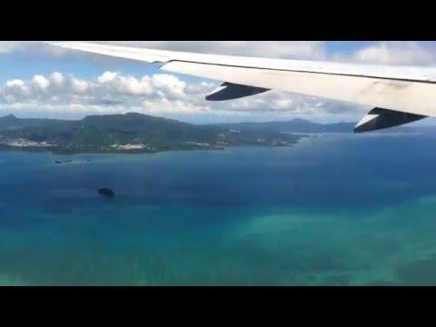 Landing in Mayotte - DZA