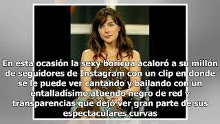 Noelia paraliza Instagram mostrando sus curvas con transparente y ajustadoatuendo
