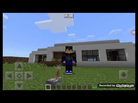 Minha novo casa no mcpe