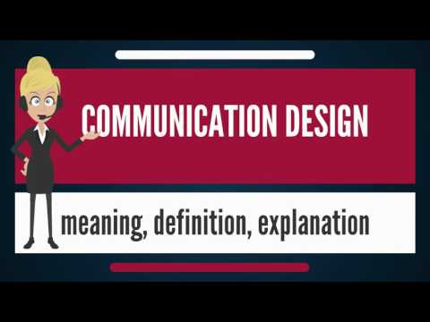 What Is COMMUNICATION DESIGN? What Does COMMUNICATION DESIGN Mean? COMMUNICATION DESIGN Meaning