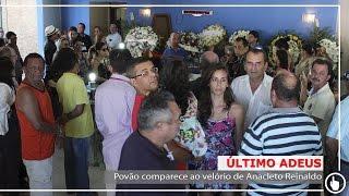 Povão comparece ao velório de Anacleto Reinaldo