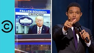 Trump Offends The Families Of Fallen Troops | The Daily Show