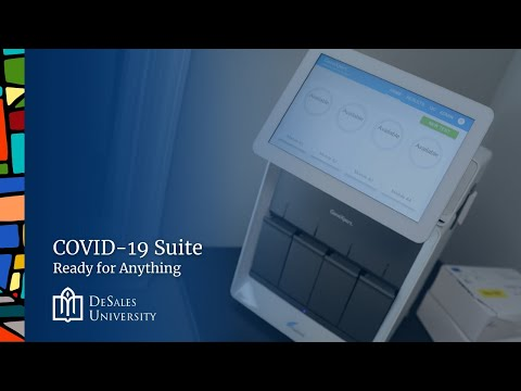 COVID-19 Suite: Ready for Anything at DeSales University