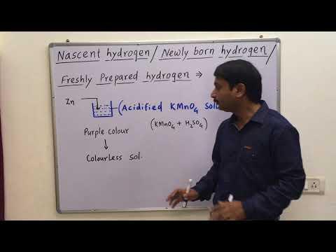 Nascent Hydrogen