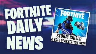 Fortnite Daily News (FREE) PS PLUS SKIN - NEW TRAP (26 mars 2019)