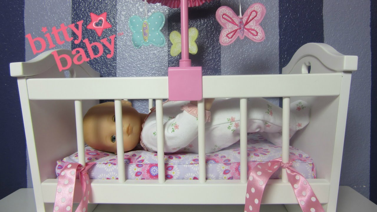 American Girl Bitty Baby Doll Crib Details Bitty Baby