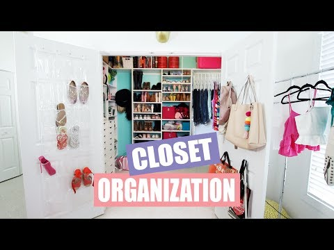 How to Clean and Organize Your Closet FAST!