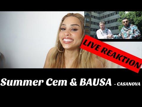 Summer Cem & BAUSA ` CASANOVA ` [ official Video ] prod. by Juh-Dee Live Reaction
