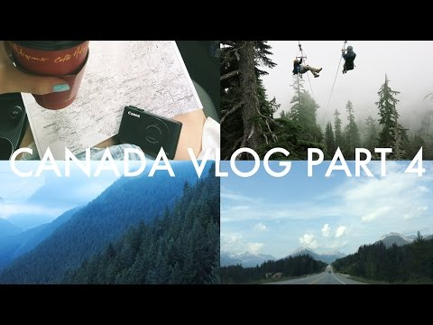 Canada Vlog Part 4: Grouse Mountain & Road Trip to Kelowna   Zoey Olivia
