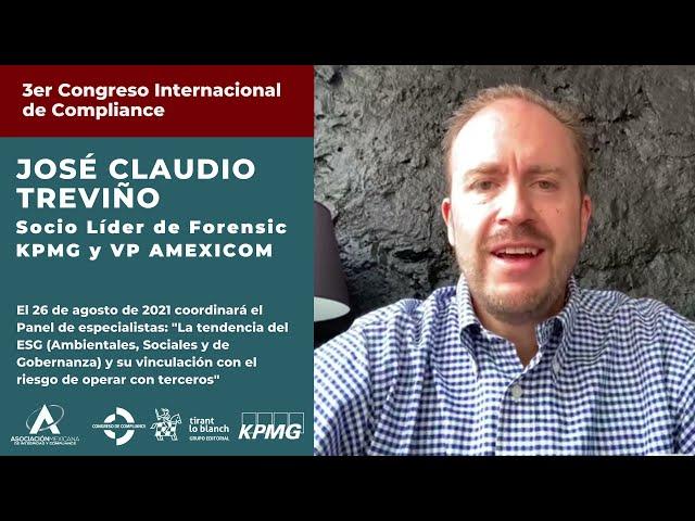 José Claudio Treviño te invita al 3er Congreso AMEXICOM