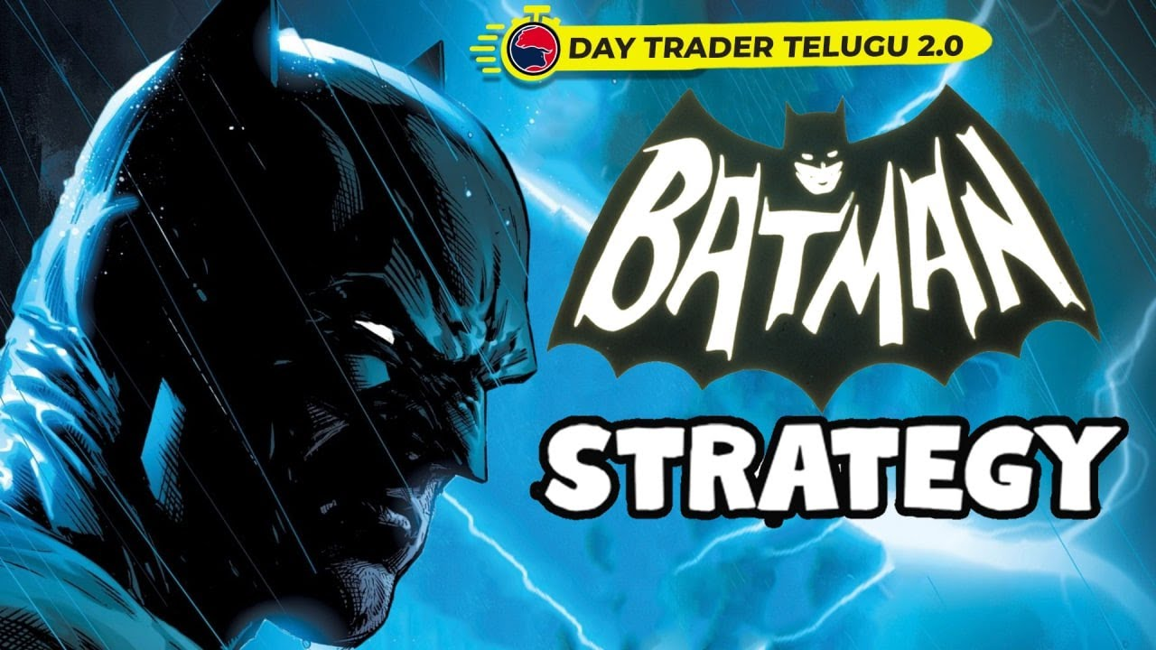 BATMAN OPTION TRADING STRATEGY | Regular Income from stock market option trading