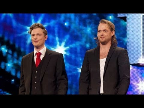 Sexy magicians Brynolf and Ljung - Britain's Got Talent 2012 audition - UK version