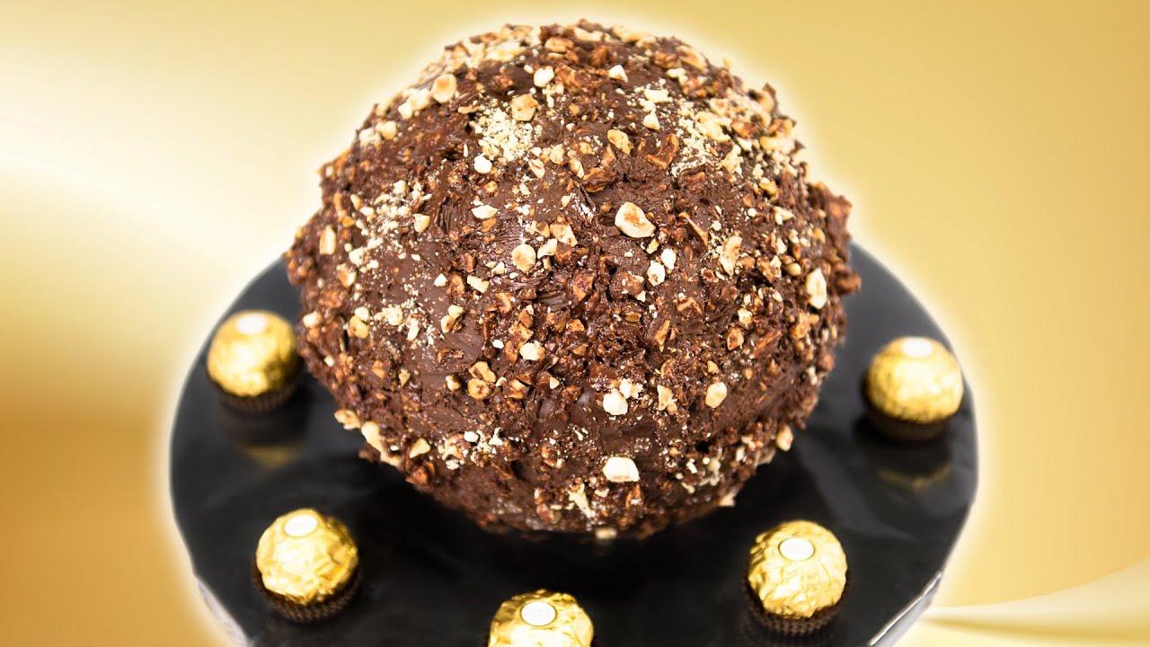 How To Make Ferrero Rocher Chocolate Cake