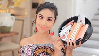 NEW ColourPop's Nectar Collection Tutorial + Overview    Spring 2017