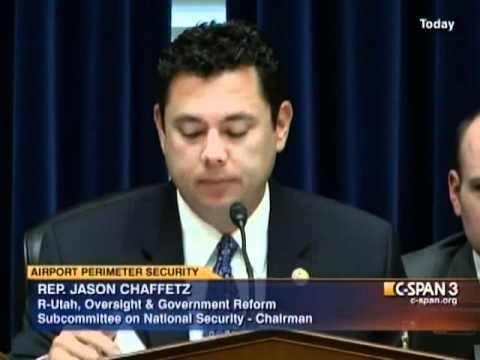 Jason Chaffetz: Airport Security Inefficiency - July 13, 2011