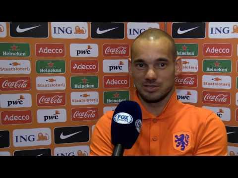 """Sneijder: """"Wij kunnen Arjen Robben niet missen"""""""