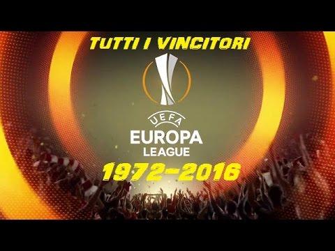 Tutti i vincitori dell'Europa League (1972-2016)