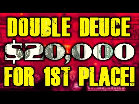DOUBLE DEUCE, $20,000 FOR 1ST PLACE! PokerStaples Stream Highlights