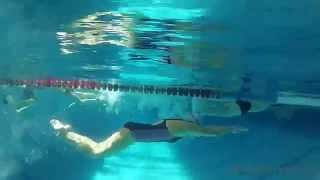 Техника плавания. Девочки.С приколом!