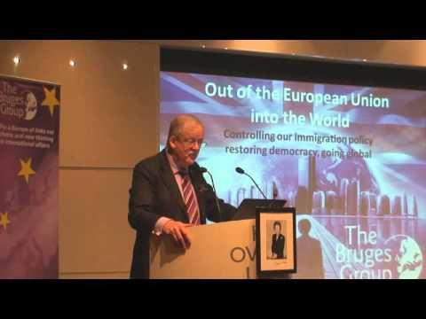 Roger Helmer at Bruges Group