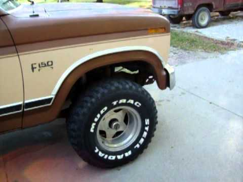 Lifted Ford F150 >> Lifted 1986 ford f150 - YouTube