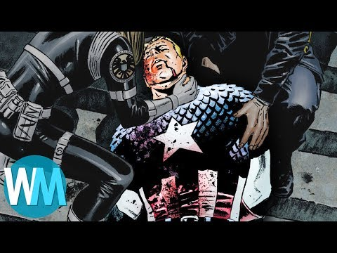 Top 10 Heartbreaking Deaths in Marvel Comics