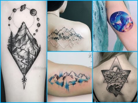 Beautiful Mountain Tattoo Ideas for Women's and Men's