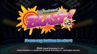 Wicked Monster Blast! Wii Gameplay