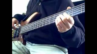 "Stone Temple Pilots ""Piece of Pie"" Bass Cover"