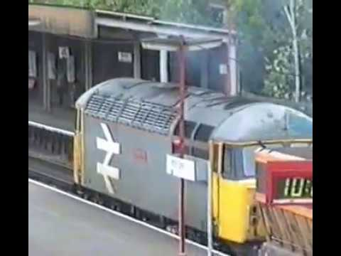 Kent Freight Flows in 1990 with Class 33 Class 56 Class 47 Class 73 thrash power action