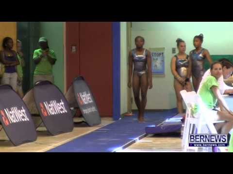 Bermuda Gymnasts Vault Event, July 16 2013