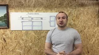 видео Проект гаража создаем своими руками