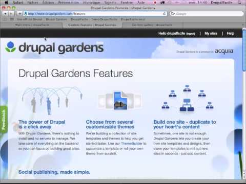 E Episode 26  Crer Des Sousmenus Dans Drupal Gardens