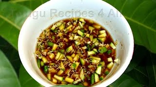 How To Make Ugadi Pachadi Recipe In Telugu With English Subtitles