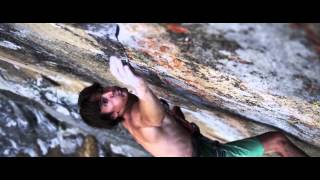BD athlete Mason Earle makes the FFA of Psycho Bitch (5.13b) in Yosemite