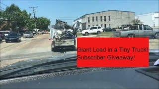 1000 Subscriber Giveaway and an Expert Scrap Hauler - Thank You!