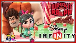 Disney Infinity : Wreck-It Ralph & Vanellope Gameplay