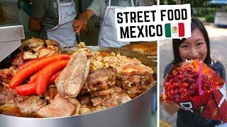 MEXICO CITY'S ICONIC street food | Street food in Mexico | DORILOCOS, Tortas + Tacos!