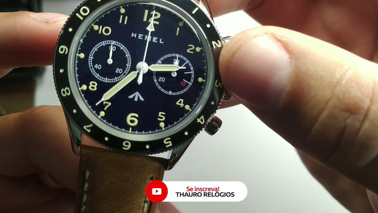 Review: Relógio HEMEL The Airfoil - Calibre ST19 w/Swan Neck Regulator Mechanical 42mm - Thauro