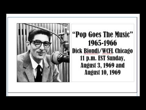 """""""POP GOES THE MUSIC,"""" WITH DICK BIONDI, AUG. 3 AND 10, 1969"""