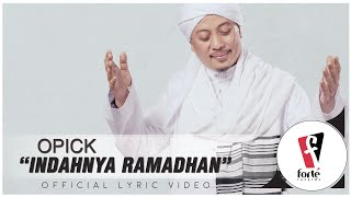 Opick - Indahnya Ramadhan | Official Lyric Video
