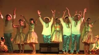 필리핀 돌나라 예술단, 전통 춤 Tinikling 티니클링 대나무춤