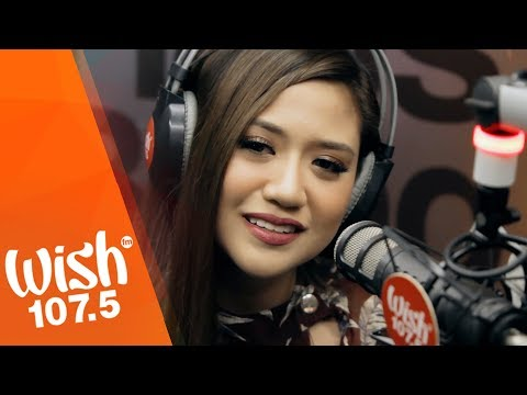 Morissette performs Akin Ka Na Lang  on Wish 1075 Bus