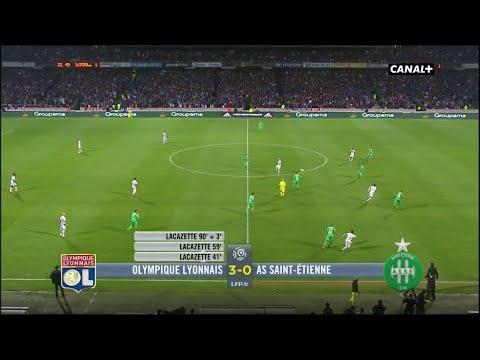 Ligue 1 - 50ème Derby - OL 3-0 ASSE - Grand Format - 13ème Journée